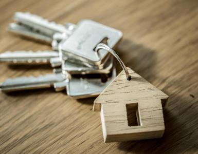 chaves de um apartamento de ferias